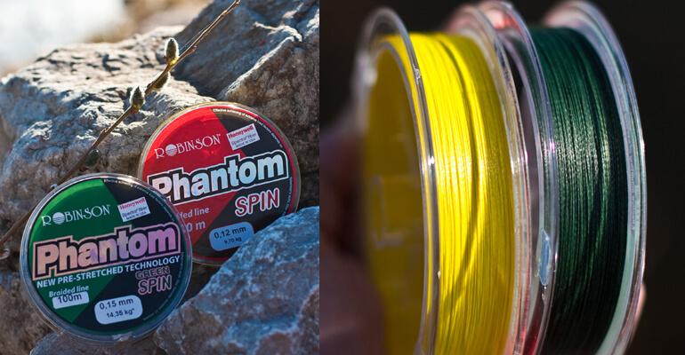 Plecionki Phantom Green Spin oraz Phantom Spin – dla wymagających