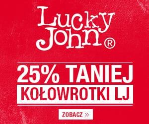 kołowrotki Lucky John