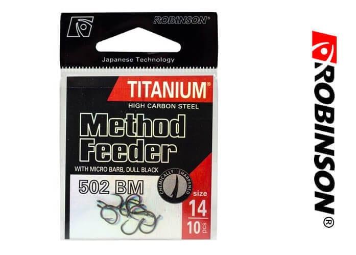 Haki robinson titanium method feeder – nowy wymiar ostrości!