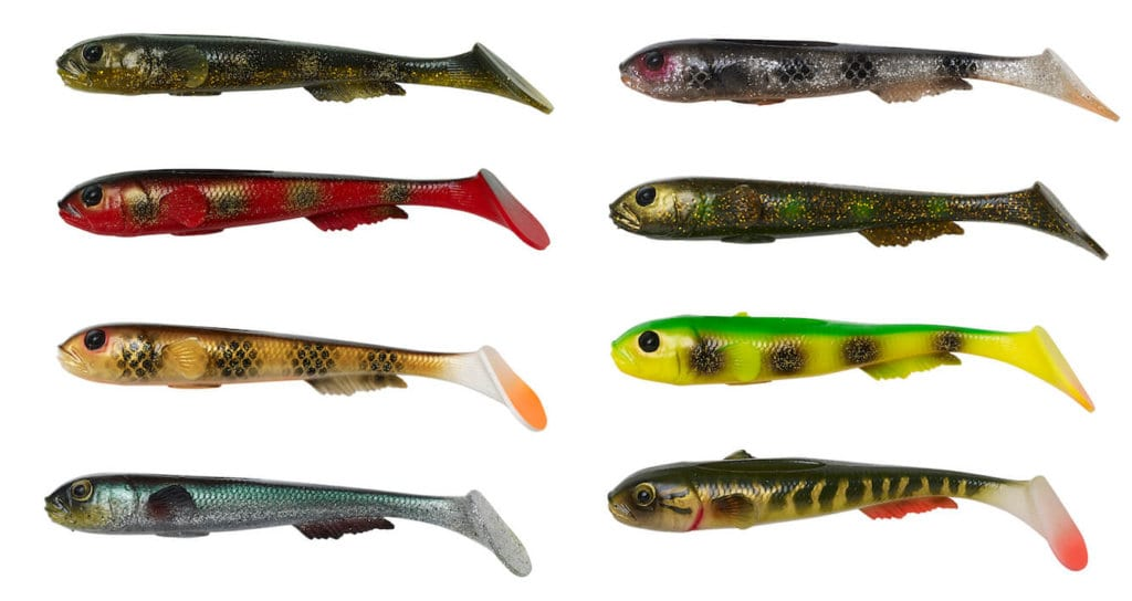 3D Goby Shad - kolory