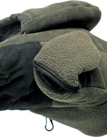 rękawice na zimę z odkrytymi palcami