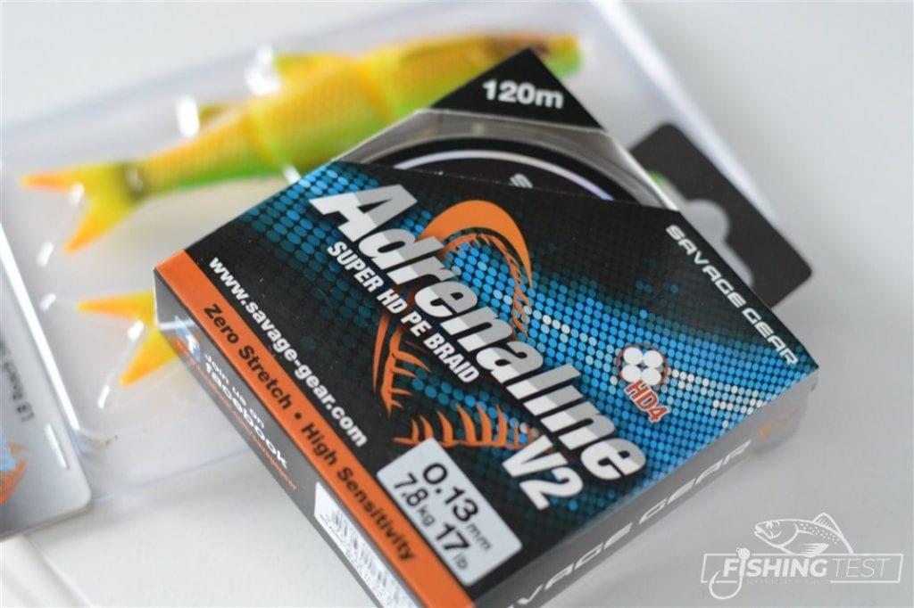 plecionka wędkarska Adrenaline V2