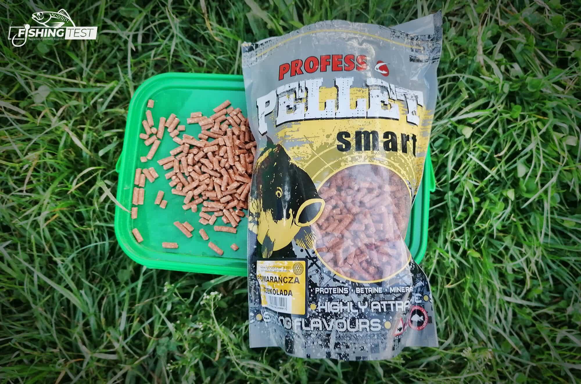Granulat, pellet smart i pellet w pudełku firmy Profess