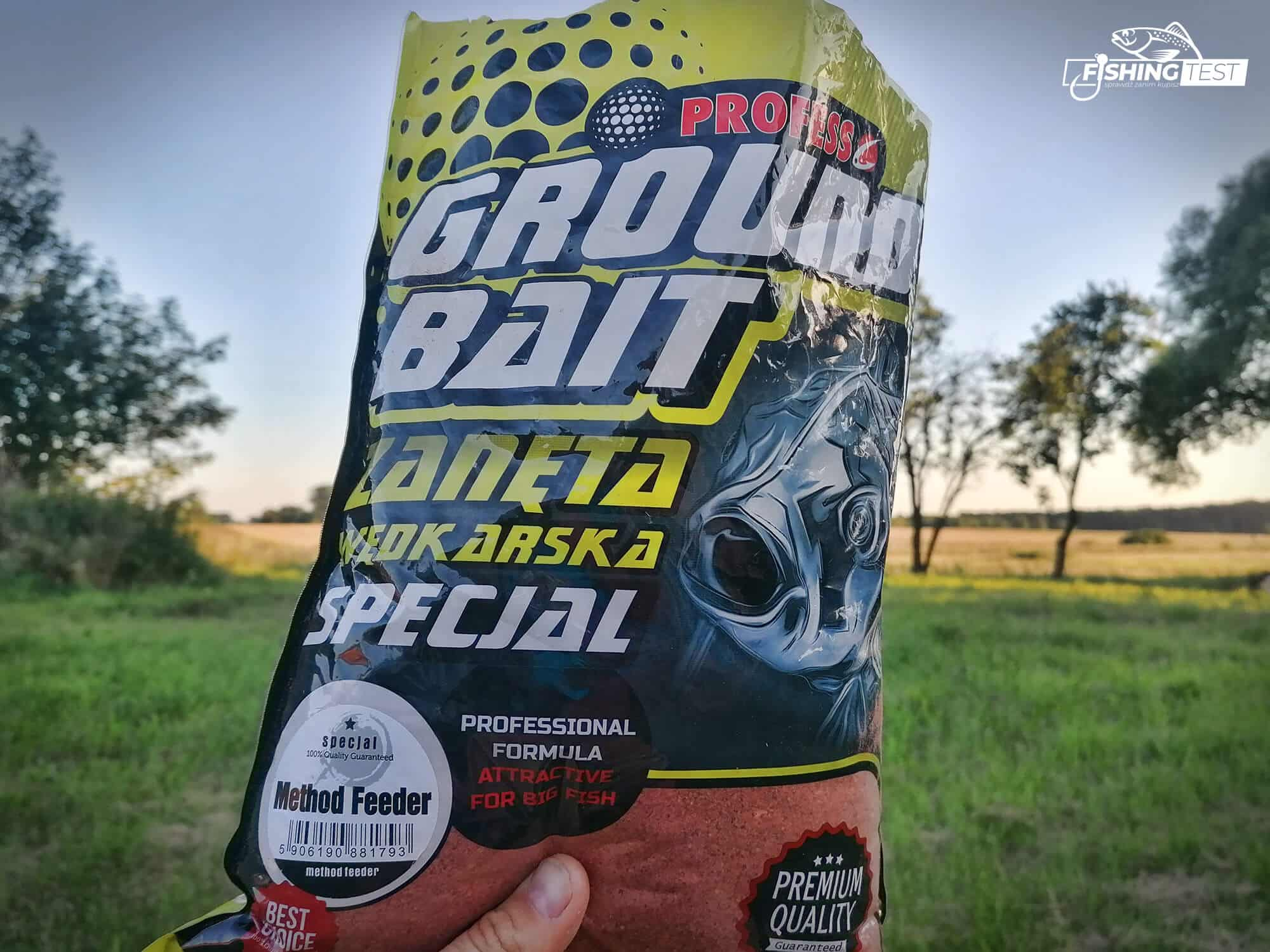 zanęta method feeder ground bait profess